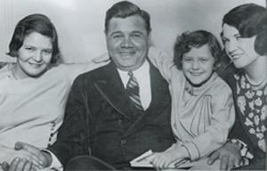 Babe Ruth family