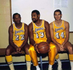 Elgin Baylor, Chamberlin and West