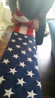 Folding Flag 3