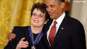 Billie Jean King medal of freedom