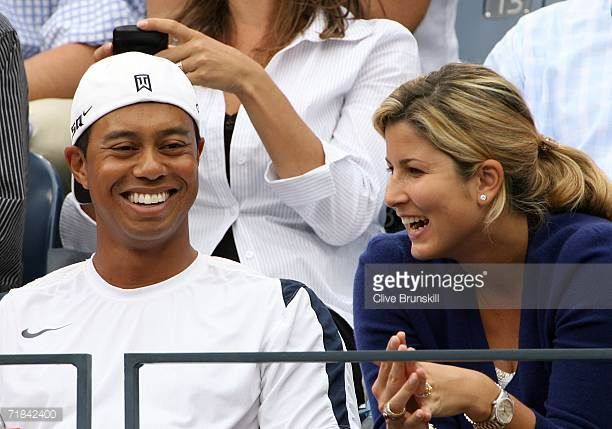Federer and Woods 2