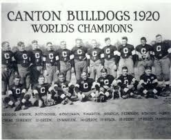 Canton Bulldogs 1920