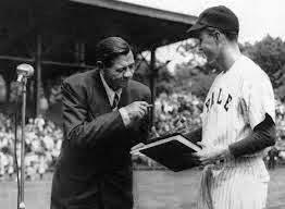 George H W Bush and Babe Ruth