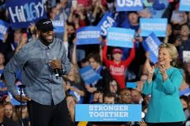 Lebron and Clinton