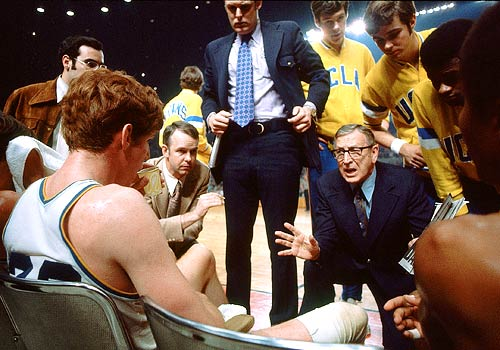 John Wooden wins title