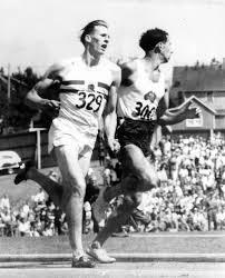 Roger Bannister and John Landy