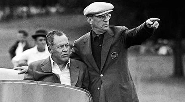 Bobby Jones and Cliff Roberts