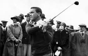 Gene Sarazen action