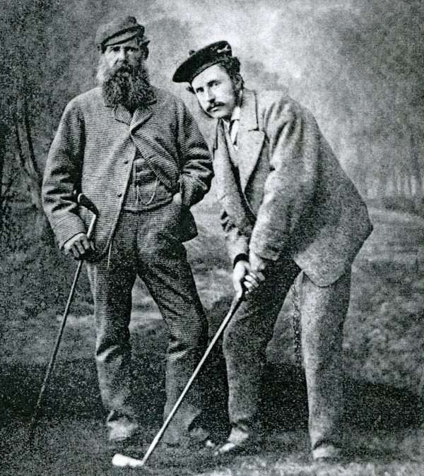 Young Tom and Old Tom Morris