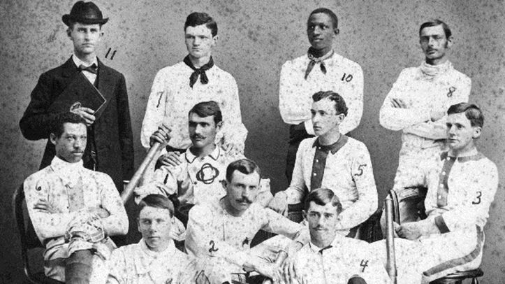 Moses Fleetwood Walker with team